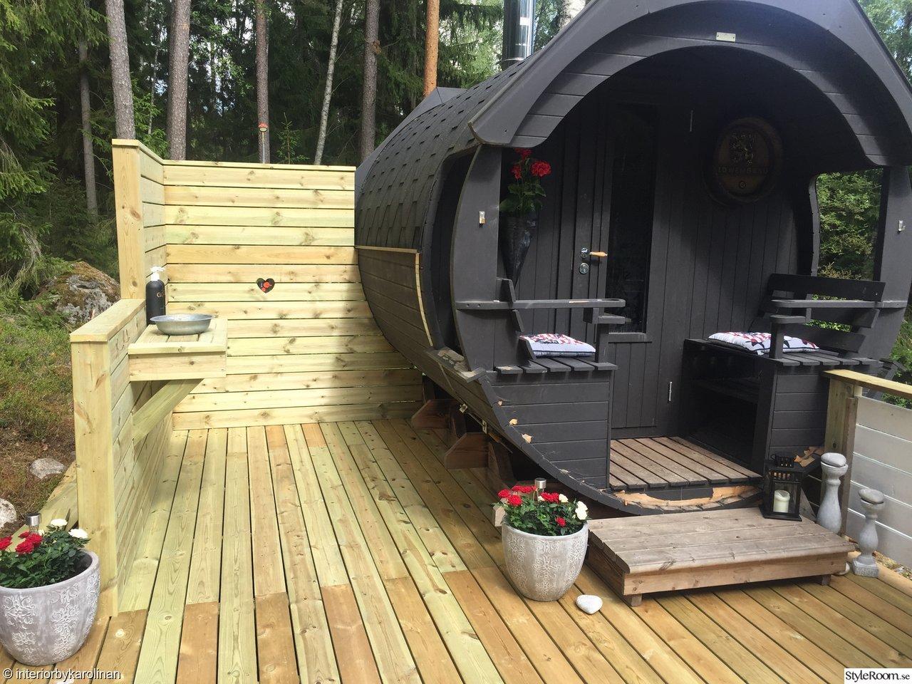 Inspirerande album på sauna