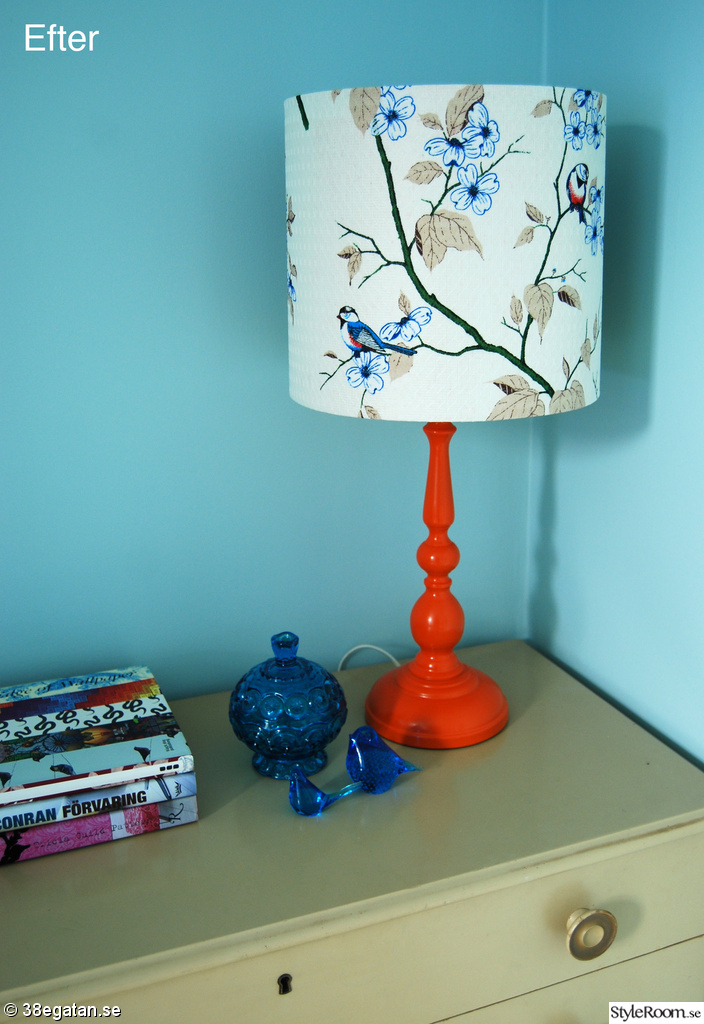 bordslampa,fåglar,diy,diy lampa,do-it-yourself
