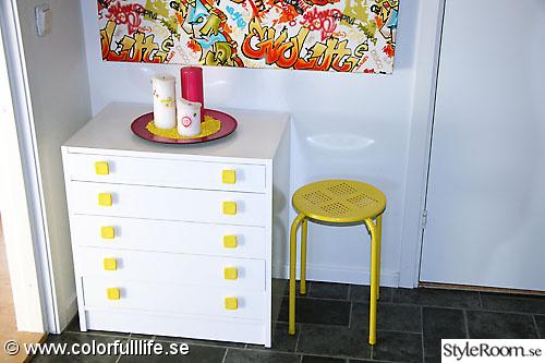 Vårt färgstarka hem Ett inredningsalbum på StyleRoom av Linda