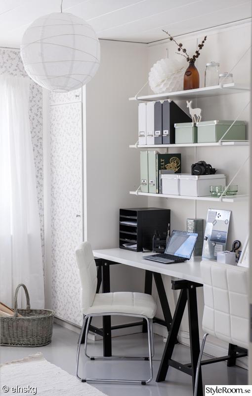 skrivbord kontor ~ bilder från styleroomreportaget  ett inredningsalbum på