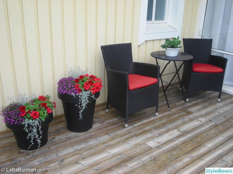 ikea,blomkrukor,altan,cafébord,konstrotting