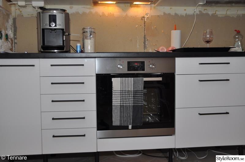 Kok Vitt Svart : Renovering av vorat kok  Hemma hos Tennare