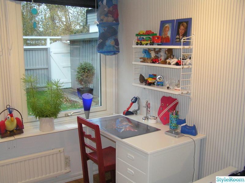 skrivbord,hylla,barnrum