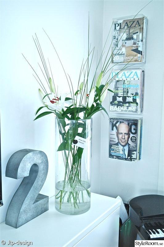 vas,blommor,tidningsställ,vitt,siffra