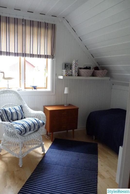 Övervåning,marint,sovrum,vitt,marin inredning