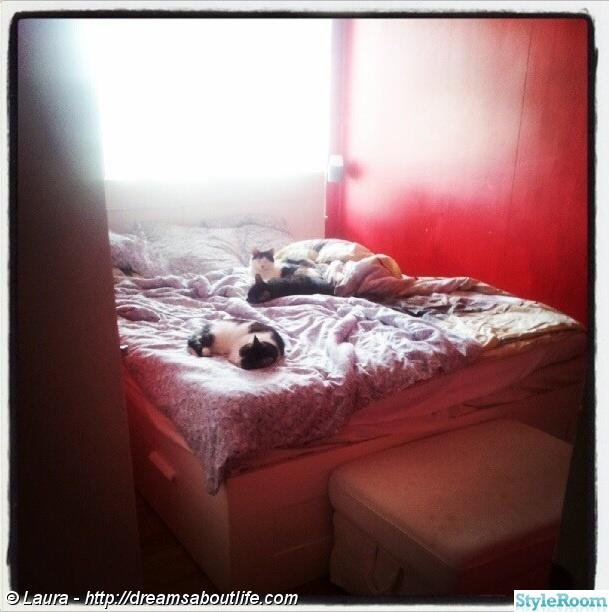 Bild på mys Rött sovrum av popinopka