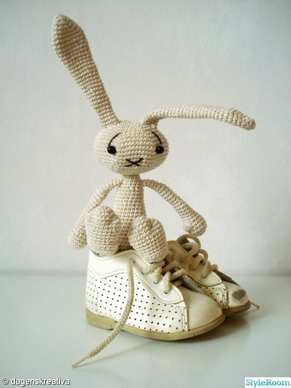 kanin,skor,naturfärgat