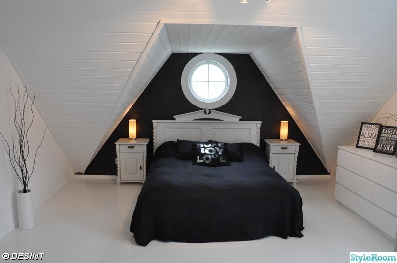 #styleroom,sovrum,svartvitt