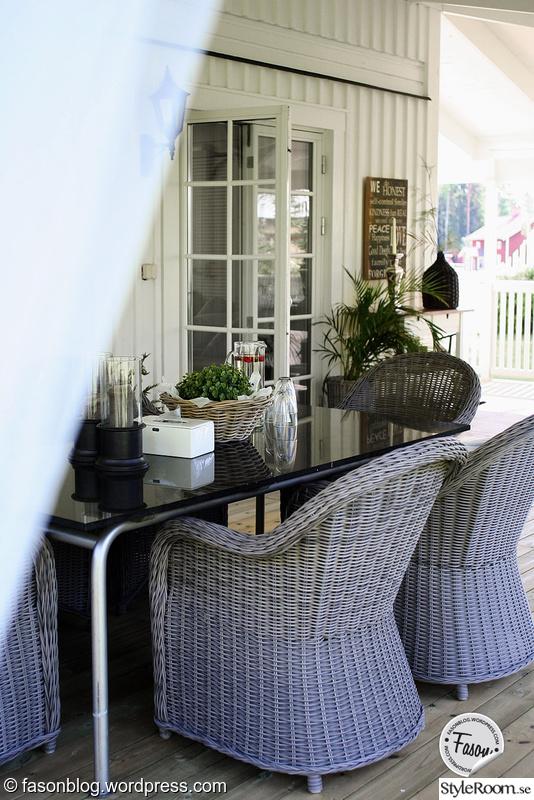 Konstrottingstolar till altan eller veranda - Veranda, exteriör
