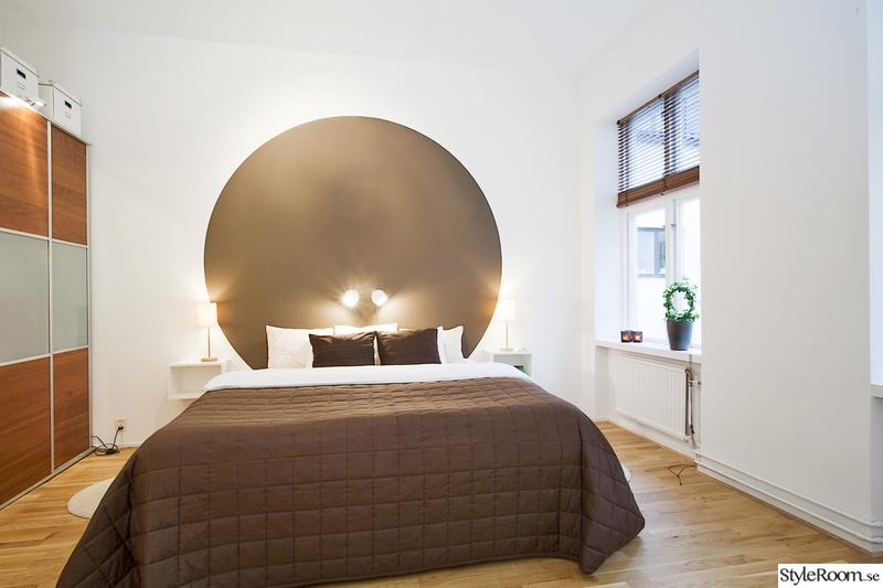 sovrum,sänggavel,fondvägg,väggmålning