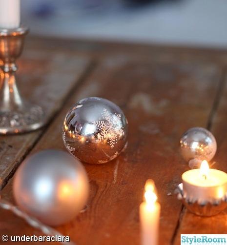 jul,dukning,slagbord,pressglas,ljus