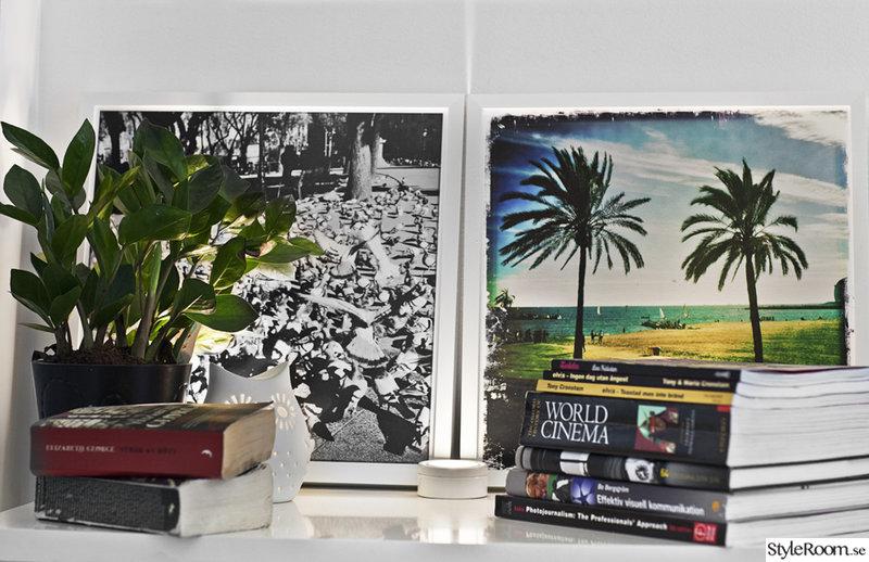 böcker,tavlor,fotovägg,fotokonst