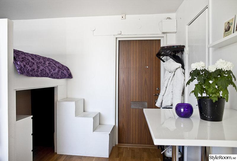 barbord,trappa,våningssäng,hall