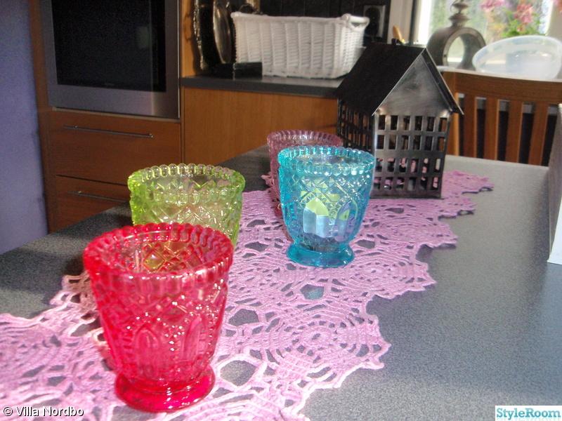 rosa,turkos,ljuslyktor,lykthus