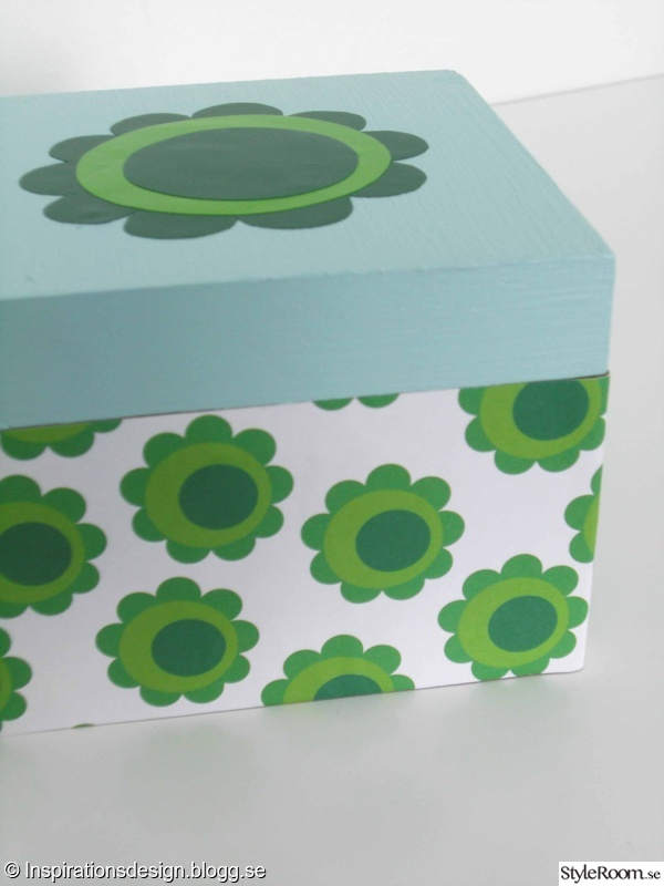 presentpapper låda