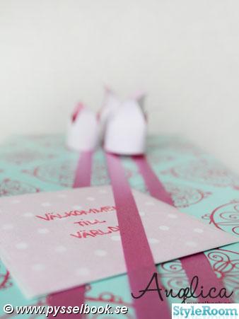 prinsessa,present,kort,presentsnöre,paketinslagning