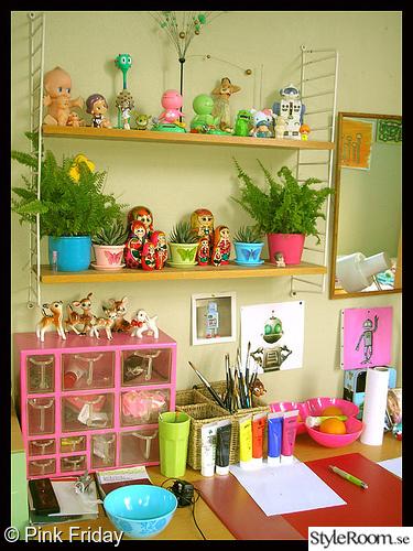 rosa,kitsch,arbtesplats,babuschkas