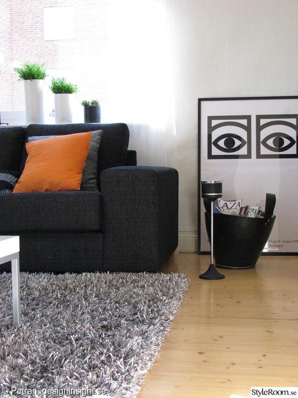 vardagsrum,kakao,soffa,orange,matta
