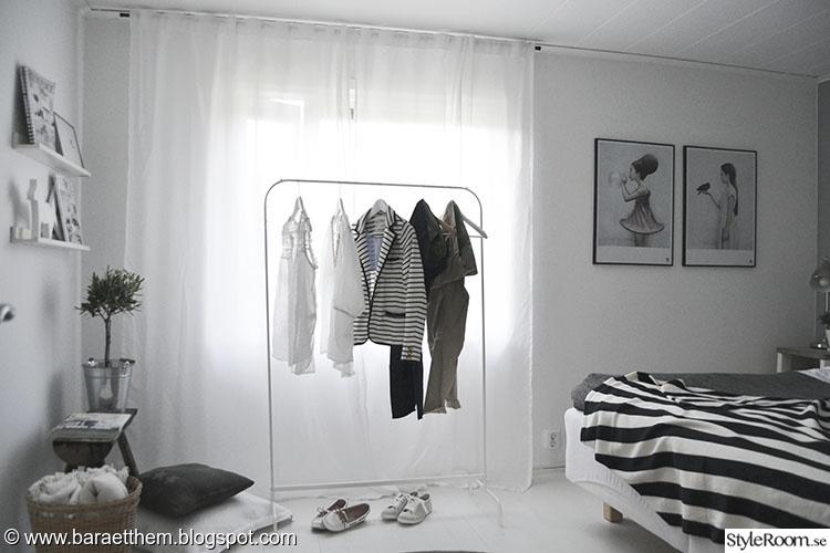 Bild på klädhängare Sovrum av baraetthem