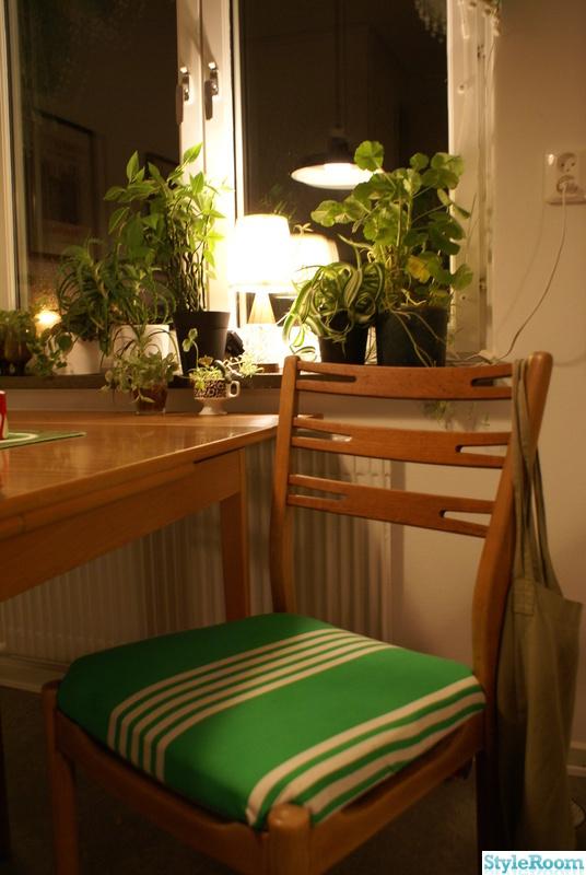 stol,50-tal,retro,grön