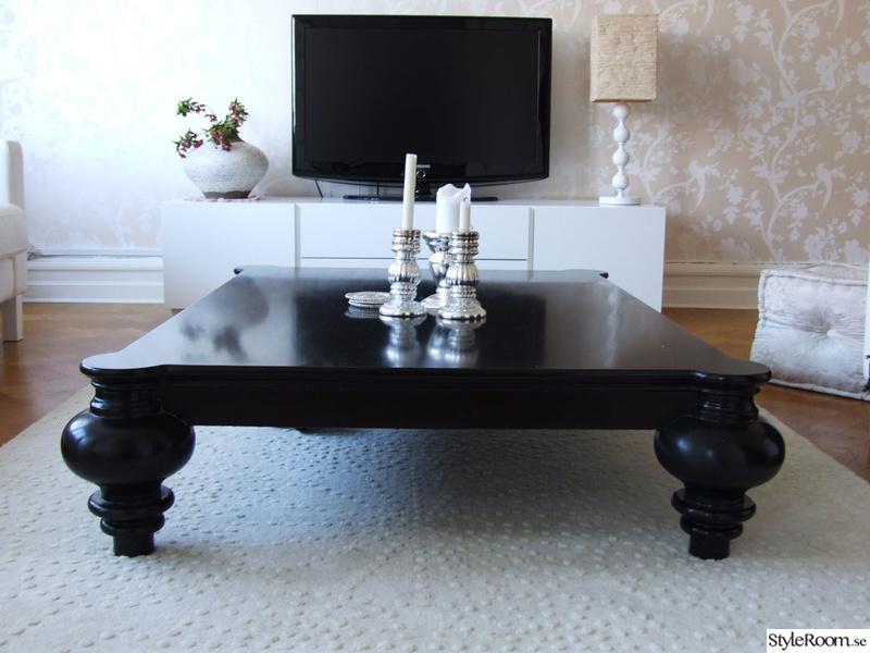 soffbord,soffbord ilva,silverkjusstakar,tv-bänk vit