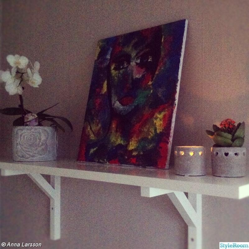 Kuva 2  Carolina Gynning inspirerad tavla  alarsson