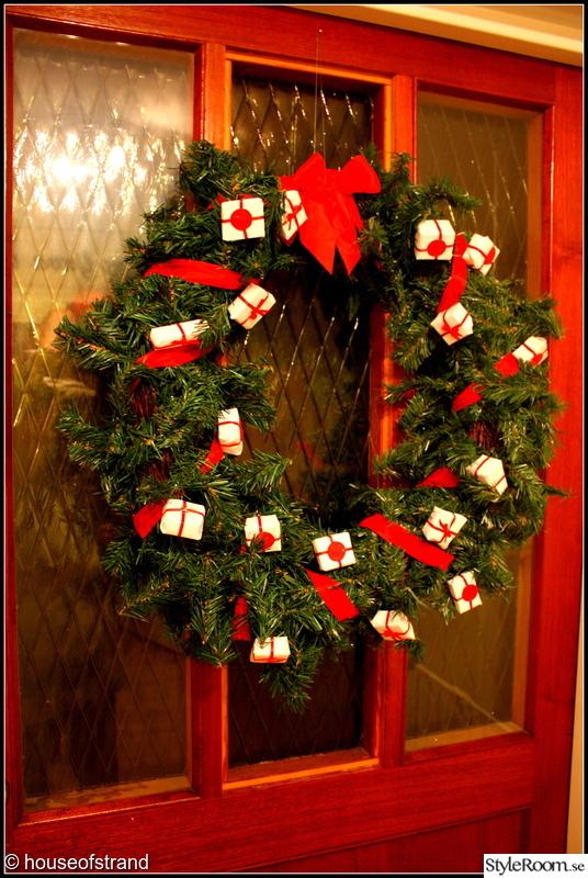 krans,krans jul,julpynt,dörrkrans,diy