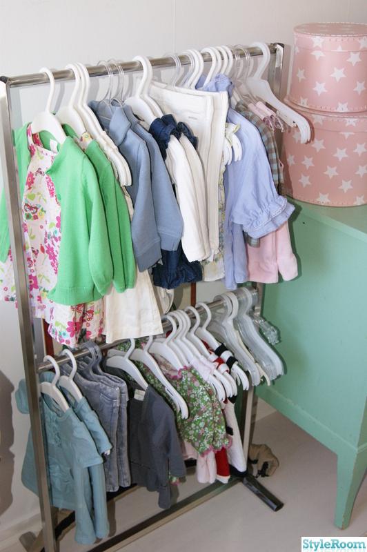 Bild på klädställning Barnrum av Sustyling