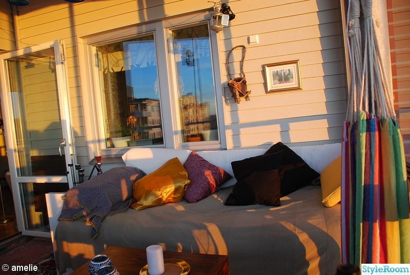 balkong,soffa,kuddar,orientaliskt