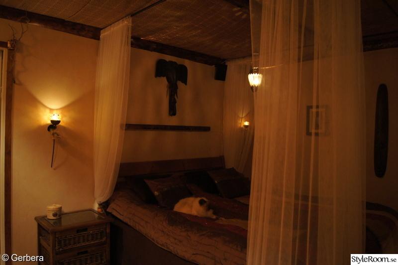 Afrikanskt sovrum Hemma hos Gerbera