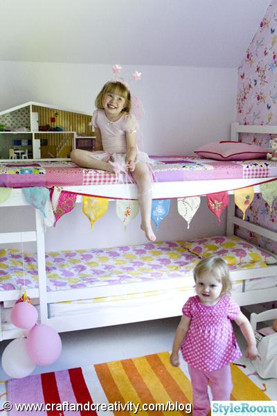 barnrum,rosa,rosa tapet,pip studio,vitt