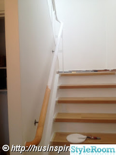 Ledstång trappa