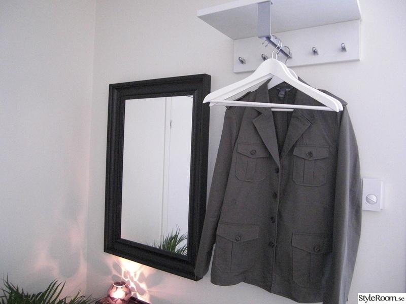 klädhängare,spegel