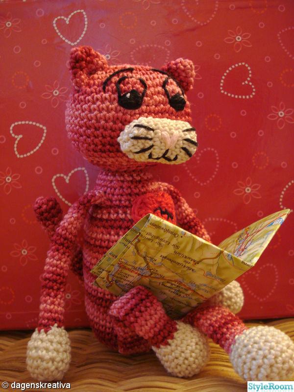 rosa,röd,hjärta,virka,dagenskreativa