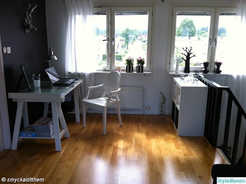 fönster,gardin,skrivbord,blommor,träd