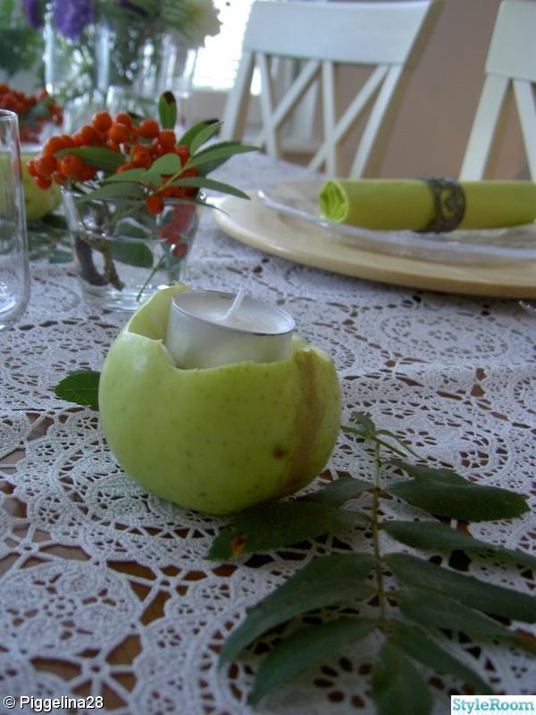apple,kök,rönnbär