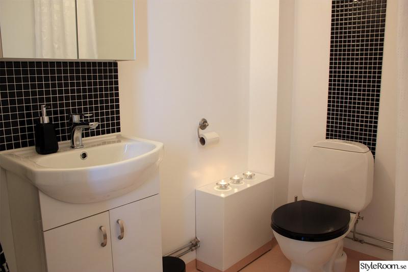 Bild på badrum Budgetrenovering toalett av armthehomeless