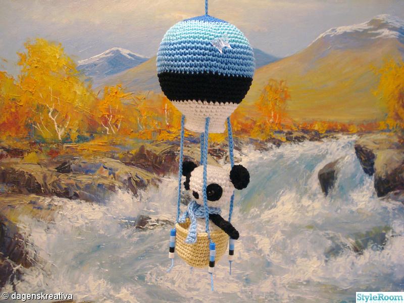 barnrum,virkat,svart,blå,luftballong