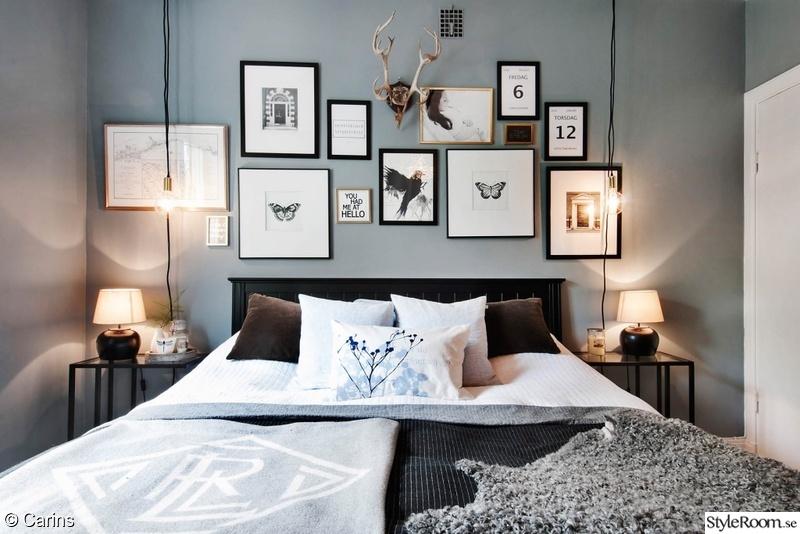 Sovrum med fotovägg - Höganäsgatan 8