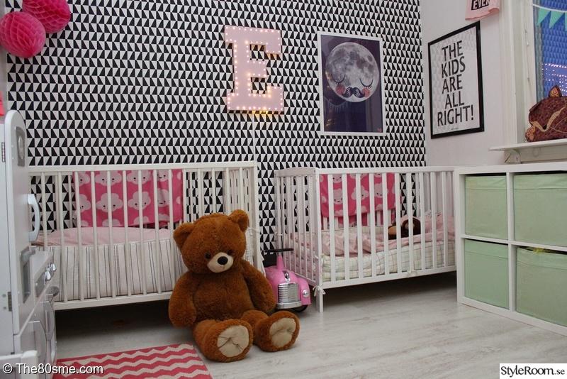 barnrum,lekrum,sovrum,grafiskt,arne jacobsen