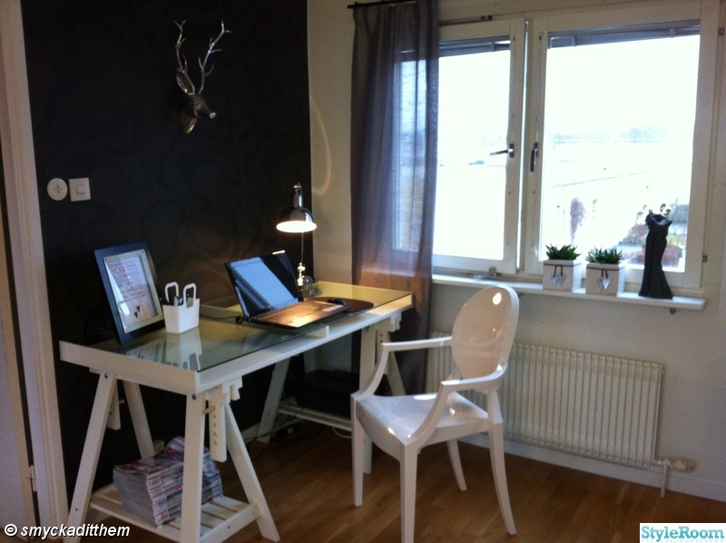 skrivbord,kartell,silver,data,skrivbordslampa