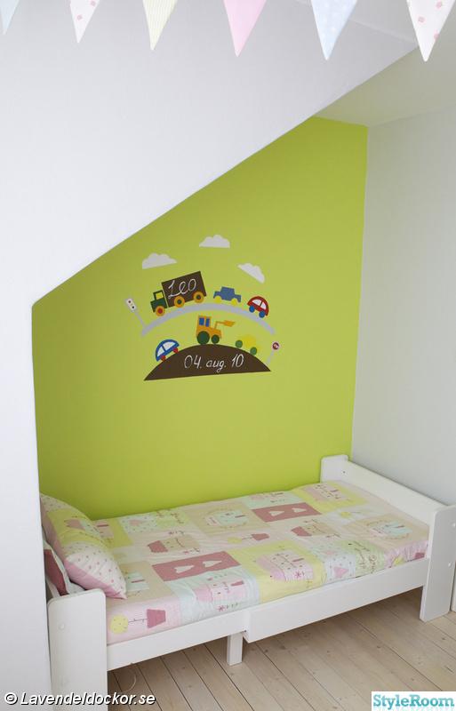 limegrönt,illustration,barnsäng,barnrum,grönt