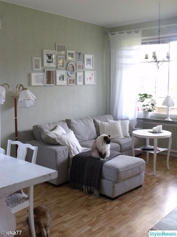 vardagsrum,tavelvägg,retro,golvlampa,50-tal