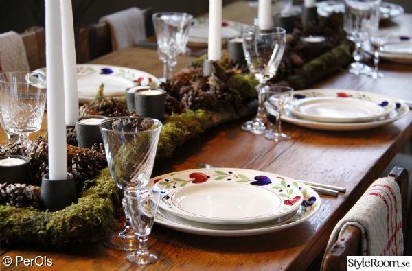 jul,juldukning,dukning,dekoration,rustikt
