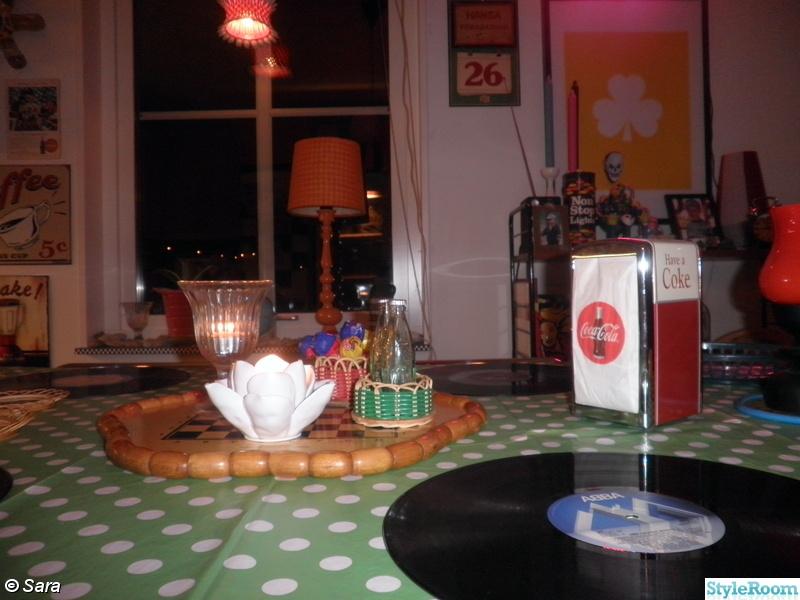 Retro Koksbord : Mitt retro palats  Hemma hos Modernretro