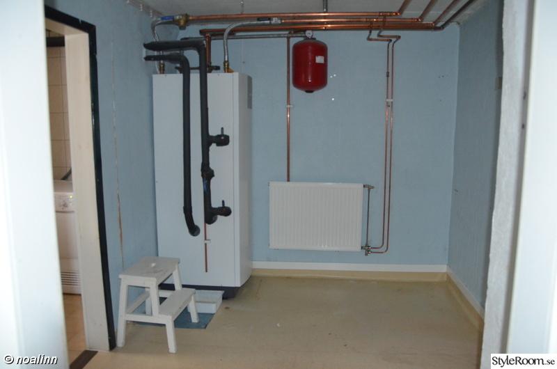 Ny toalett med dusch och bastu och ny tvättstuga - Hemma hos Noalinn