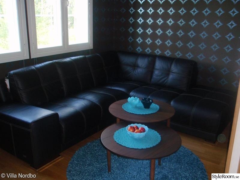 soffa,turkos,tv hörna