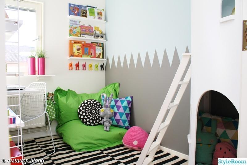 barnrum,kontor,skrivbord,strinhylla,arbetsplats