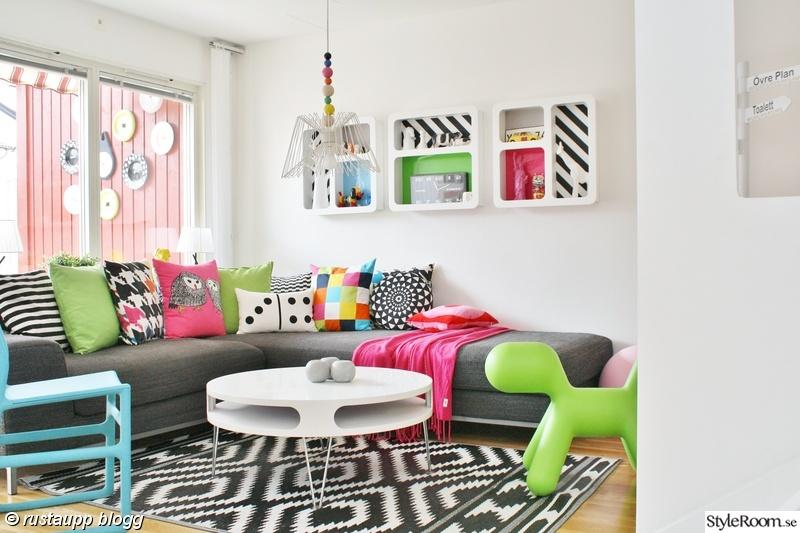 vardagsrum,lampa,bord,grafiskt,soffbord runt