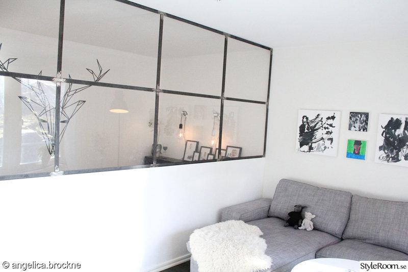 sovrum,vardagsrum,väggmålning,industri,grå